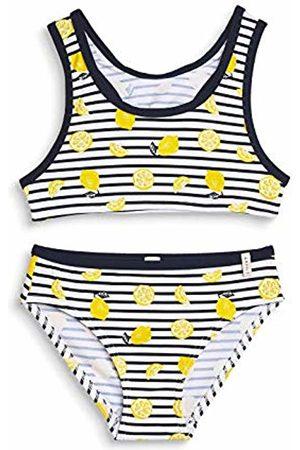 Esprit Girl's Lemon Beach Mg Bustier + Brief Swimwear Set