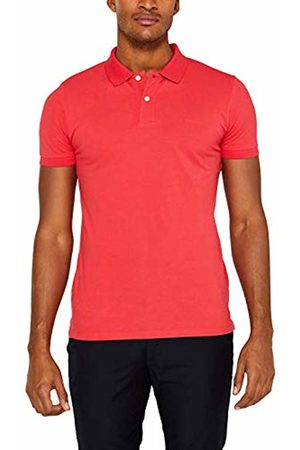 Esprit Men's 029Ee2K034 Polo Shirt, (Coral 640)