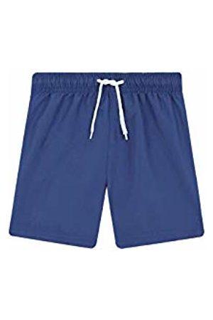 Gocco Boy's Traje De Baño Detalle Contraste Swimsuit (Azur Nuevo Ai) 116 (Size: 5-6)