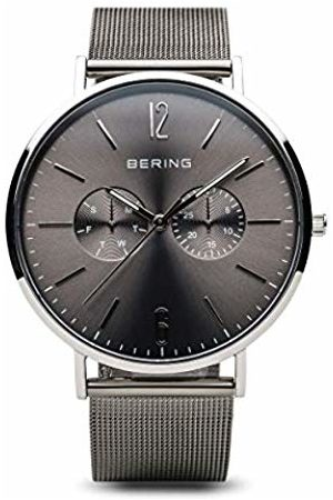 Bering Mens Analogue Quartz Watch with Stainless Steel Strap 14240-308