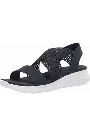 Skechers Women's Ultra Flex - NEON Star Open Toe Sandals
