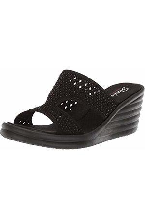 Skechers Women's Rumbler Wave - Ibiza Summer Open Toe Sandals BBK