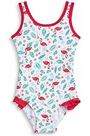 Esprit Girl's Flamingo Beach Mg Swimsuit Swimming Costume
