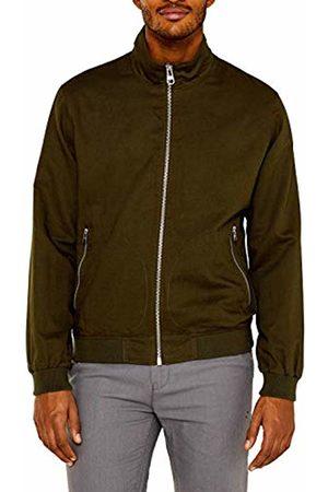 Esprit Men's 049Ee2G007 Jacket, (Khaki 350)