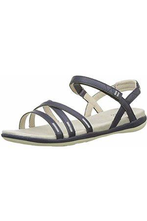 TBS Women's Rosita Open Toe Sandals, (Marine + Chambray F7M52)