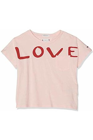 Tommy Hilfiger Girls T-shirts - Girl's Bold Text Grown On S/s Tee T-Shirt