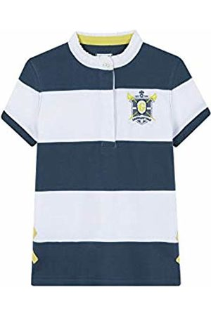 Gocco Girl's Polo Manga Corta Shirt, (Vs Petroleum )