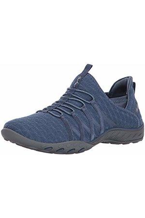 Skechers Women's Breathe Easy 23048-slt Low-Top Sneakers (Gray)