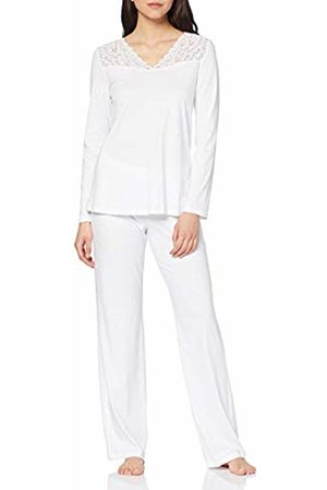 Hanro Women's Moments NW Pyjama 1/1 Arm Sets, ( 0101)
