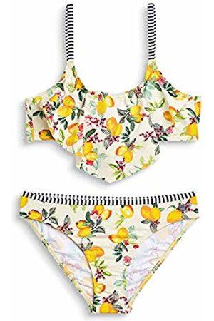 Esprit Girl's Panama Beach Yg Bandeau + Brief Swimwear Set, (Bright 740)