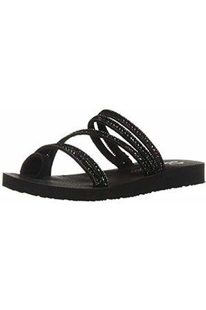 Skechers Women's Meditation - Glam Flash Open Toe Sandals BBK