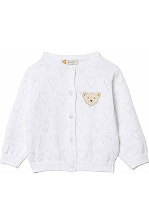Steiff Baby Girls Strickjacke Cardigan, (Bright 1000)