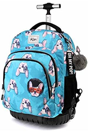 Oh My Pop! Oh My Pop Doggy-GTS Travel Trolley Backpack Casual Daypack, 47 cm