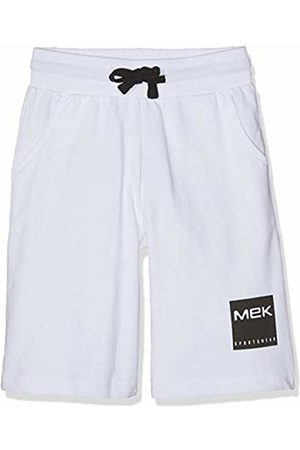 MEK Girl's Bermuda Felpina Logo Short, (Optical 01 001)