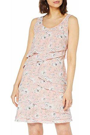 Taifun Women's 380032-17112 Dress (Pearl Blush Gemustert 3012) 16 (Size: 42)