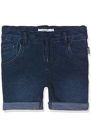 Name it Boy's Nmmsofus Dnmtato 3159 Long Shorts Noos Dark Denim