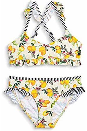Esprit Girl's Panama Beach Yg Bustier + Brief Swimwear Set, (Bright 740)