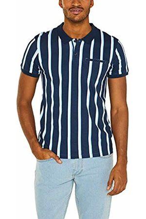 Esprit Men's 049cc2k004 Polo Shirt (Navy 400) Small
