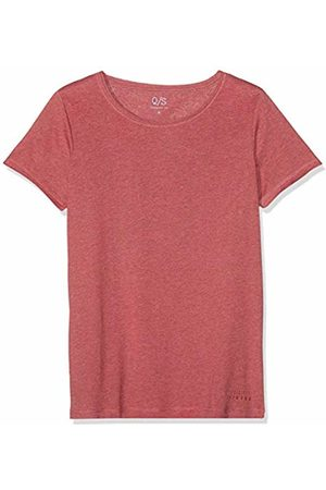 s.Oliver Men's 40.904.32.5321 T-Shirt (Coral Rose 45w0) Small
