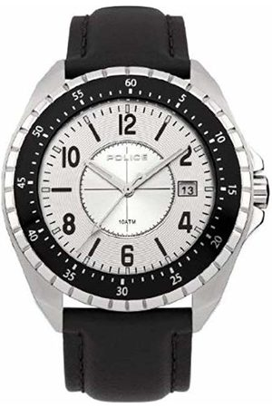 Police Miami Men's Quartz Watch with Dial Analogue Display and Stainless Steel Bracelet 13669JS/04M