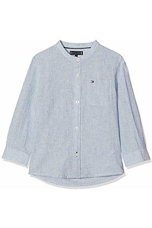 Tommy Hilfiger Baby Boys' Essential Cotton Linen Shirt L/s Blouse, 474