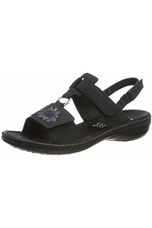 Rieker Women's 608d3-14 Closed Toe Sandals