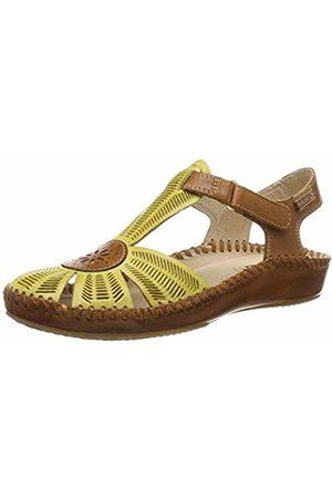 Pikolinos Leather Flat Sandals P. Vallarta 655