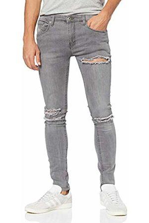 Soul Star Men's Deo Blast Multi Skinny Skinny Jeans
