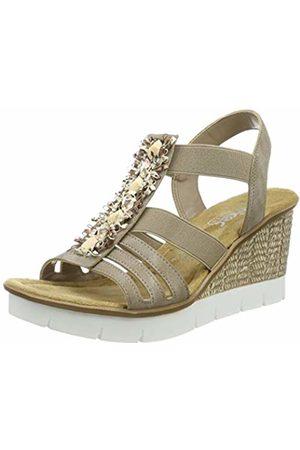 Rieker Women's 65596-64 Closed Toe Sandals