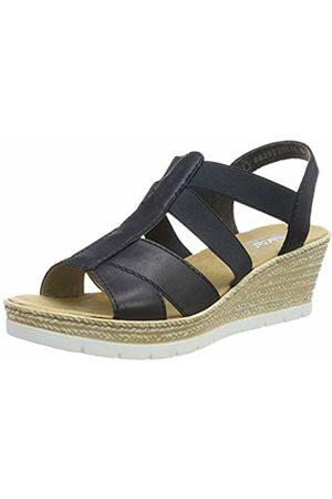 Rieker Women's 61903-14 Closed Toe Sandals 6.5 UK