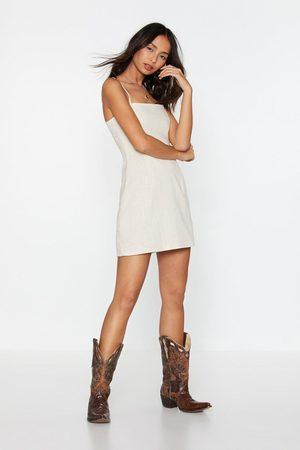 NASTY GAL Womens I Live For the Sun Linen Mini Dress - - 12