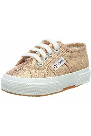 Superga Unisex Kids' 2750 Lamej Low-Top Sneakers (Rose ) 10 Child UK 28 EU