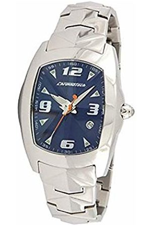 ChronoTech Unisex Adult Analogue Quartz Watch with Stainless Steel Strap CT7504L-03M