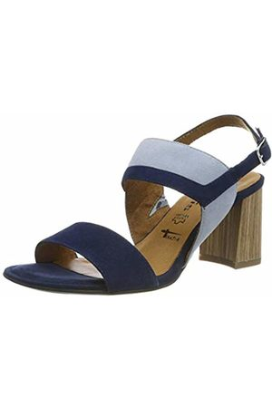 fcca8b82a952b Tamaris Women s 1-1-28358-22 Ankle Strap Sandals (Navy Sky