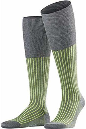 Falke Oxford Stripe Men Knee-high Socks steel mel. (3165) 41-42
