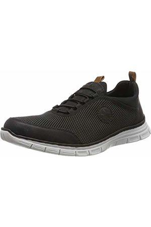 Rieker Men's B4891-00 Low-Top Sneakers, Grau Amaretto/Schwarz 00