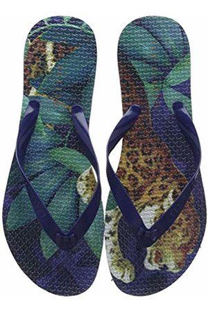 Ted Baker Ted Baker Women's Beaula Flip Flops (Navy Houdini NVY Hd) 8 (41 EU)