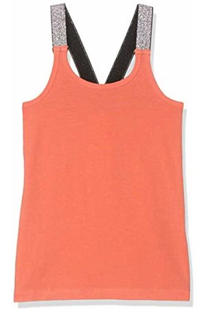 Name it Girls Tank Tops - Girl's Nkfvals XSL Racer Tank Top Noos Vest, Emberglow