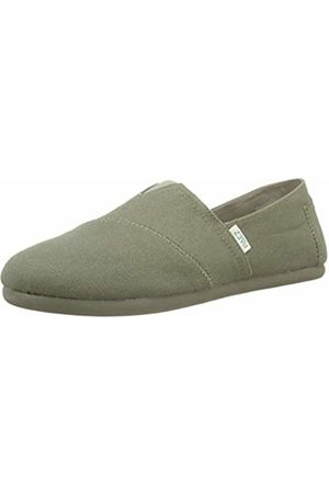 Paez Men's Classic Block Color Espadrilles (Verde 416) 8 UK