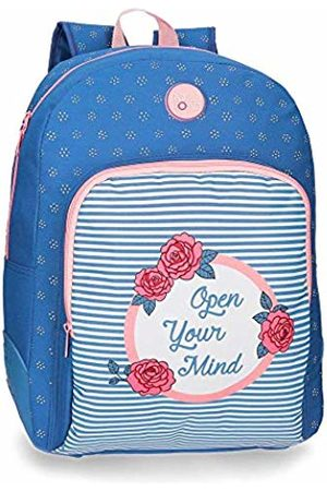 Roll Road Rose School Backpack 44 centimeters 19.600000000000001 (Azul)