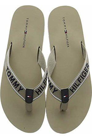 Tommy Hilfiger Women's Sporty Flat Beach Sandal Flip Flops (Cobblestone 068) 5 UK