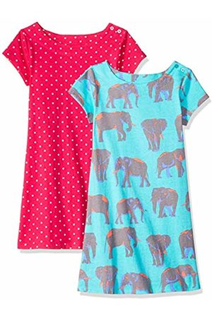 Spotted Zebra 2-Pack Knit Short-Sleeved A-Line T-Shirt Dresses Playwear