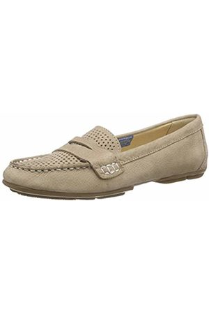 Rockport Women's Shore BETS II Loafer Warm Taupe Mocassins Size: 3.5-4