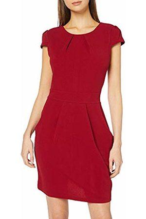Mela Women's DRES Bodycon Dress, (Burgundy)