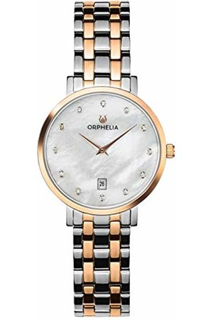 ORPHELIA Womens Analogue Classic Quartz Watch with Stainless Steel Strap OR12807