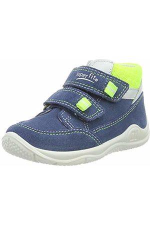 Superfit Baby Boys' Universe Low-Top Sneakers (Blau/Gelb 81) 7 UK