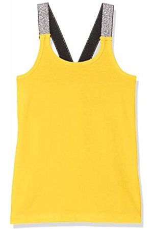 Name it Girls Tank Tops - Girl's Nkfvals XSL Racer Tank Top Noos Vest, Primrose