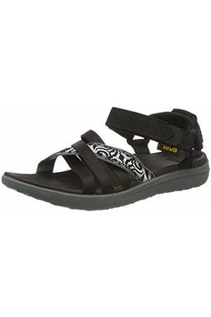 Teva Women's Sanborn W's Ankle Strap Sandals Thena Gray/ 402 6 UK
