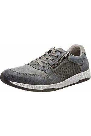 Rieker Men's B9421-46 Low-Top Sneakers (Rauch/Asphalt/Staub 46) 10.5 UK