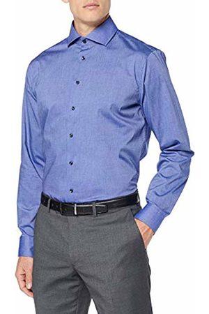 Seidensticker Men T-shirts - Men's Tailored Langarm Mit Kent Kragen Bügelfrei Formal Shirt